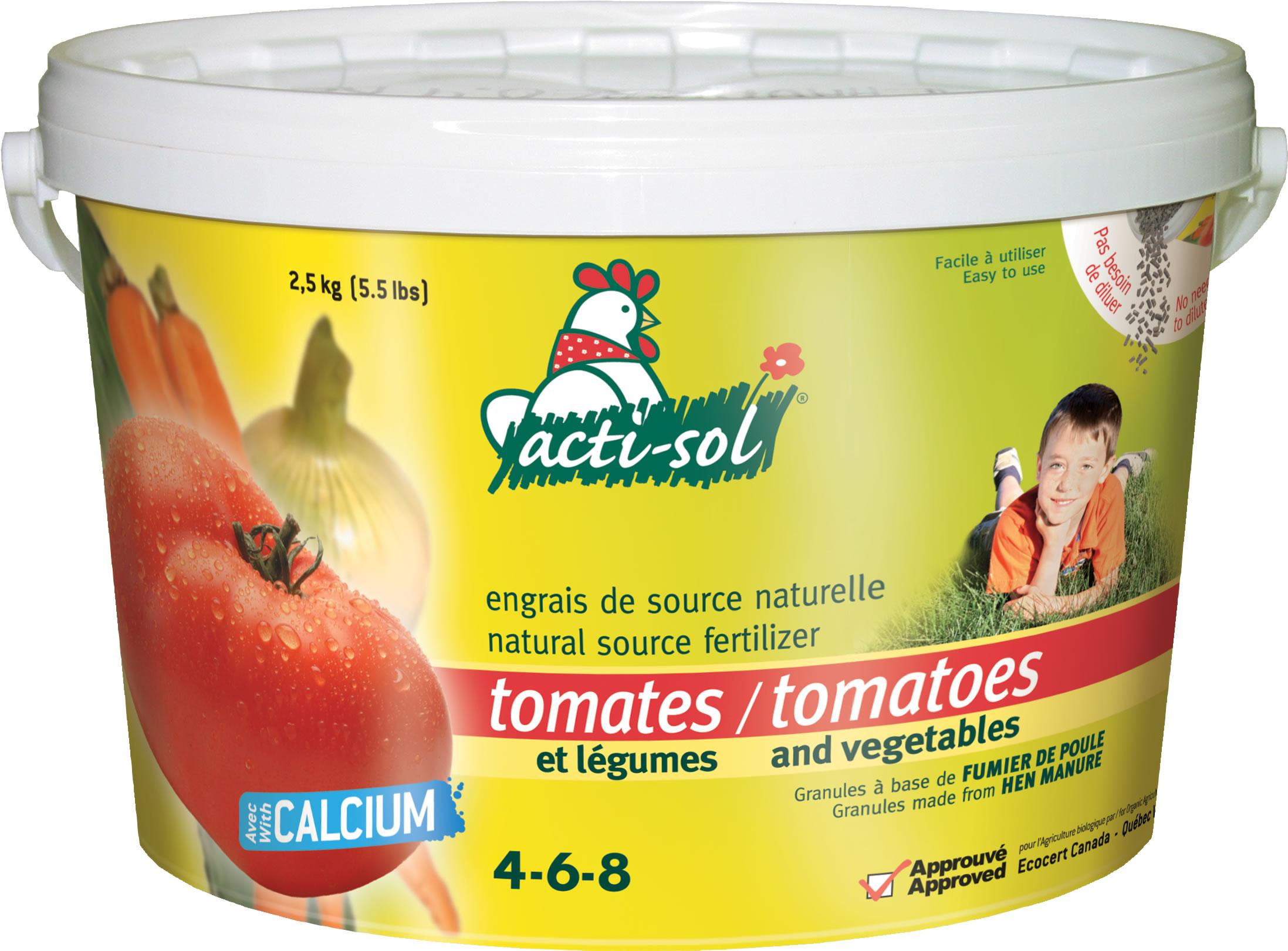 engrais tomates et l gumes 4 6 8 acti sol nos produits horticoles et de jardinage jardin2m. Black Bedroom Furniture Sets. Home Design Ideas