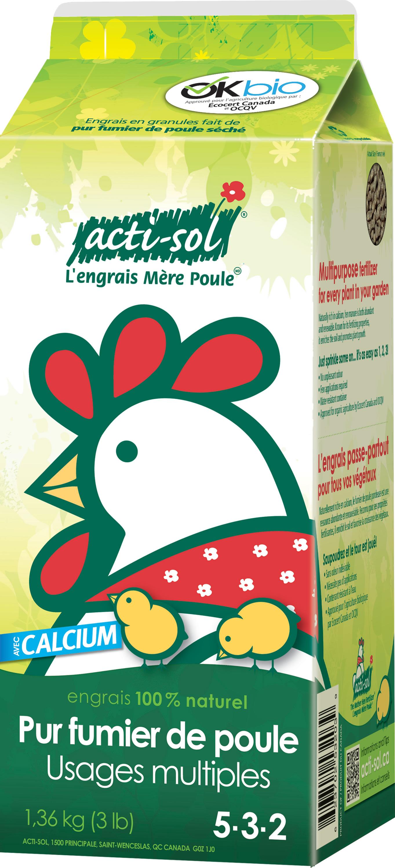 Pur fumier poule granule 5 3 2 kg nos produits for Produit de jardinage