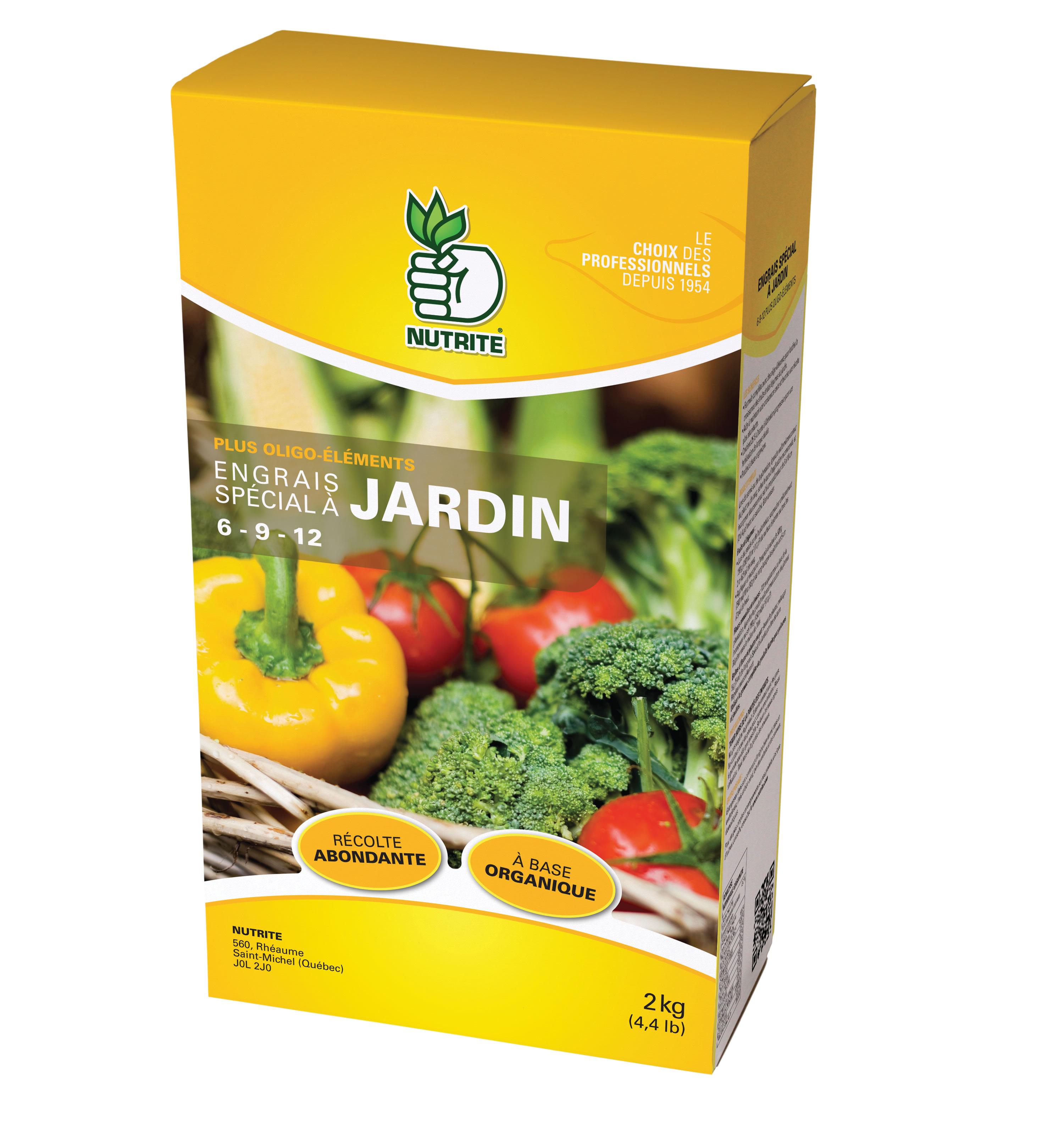 Engrais a jardin 6 9 12 nutrite nos produits for Azote pour jardin