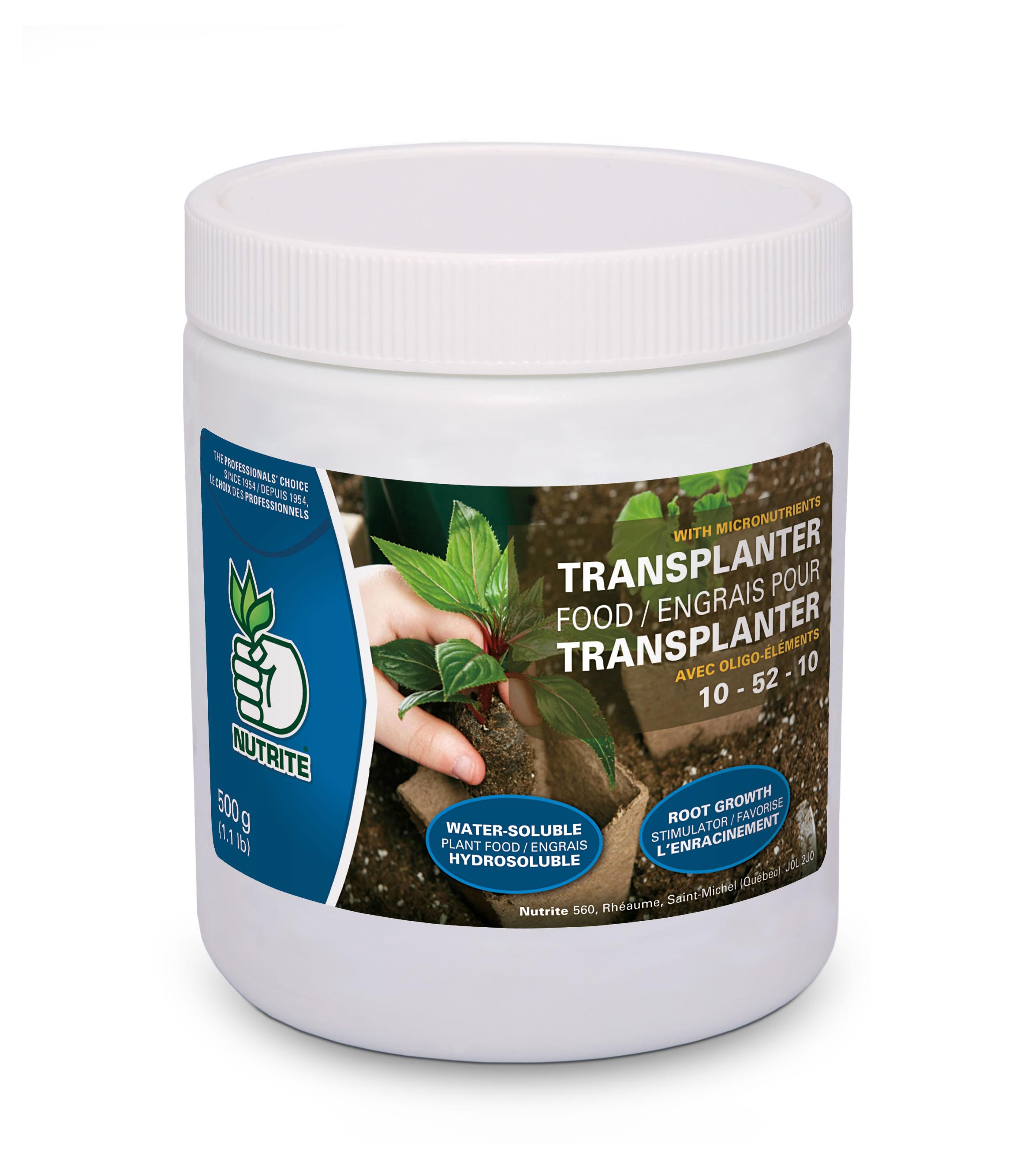Engrais transplanteur 10 52 10 nutrite nos produits for Produit de jardinage