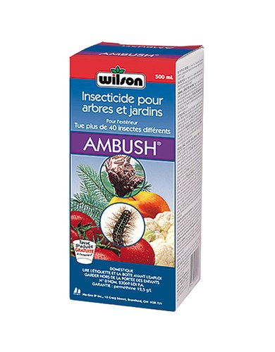 ambush insecticide wilson nos produits horticoles et de jardinage jardin2m. Black Bedroom Furniture Sets. Home Design Ideas
