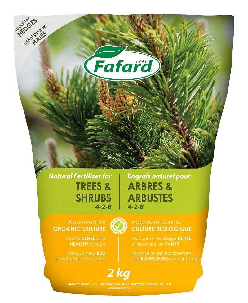 engrais arbre conifere 4 2 8 fafard nos produits horticoles et de jardinage jardin2m. Black Bedroom Furniture Sets. Home Design Ideas