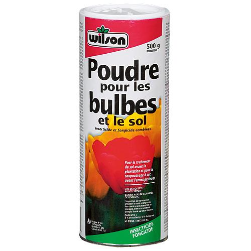 Poudre sol et bulbes wilson nos produits horticoles for Produit de jardinage