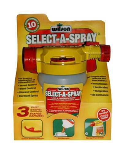 Pulverisateur select a spray wilson nos produits for Produit de jardinage