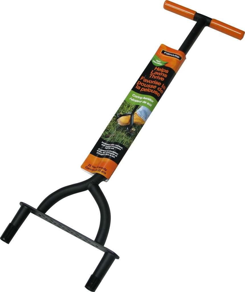 Aerateur de pelouse fiskar no 9862 nos produits for Recherche tonte de pelouse